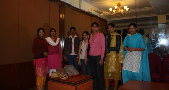 Last time I think we only had Megha, now we have 7 Componence ladies in Jaipur