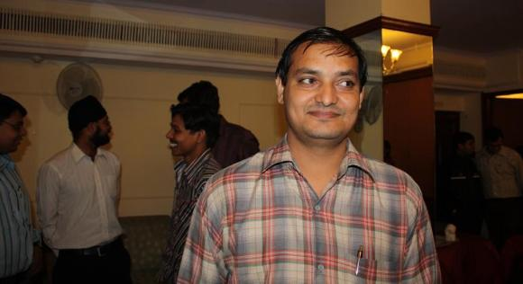 A new shining personality within our Jaipur team, an system administrator with good potential